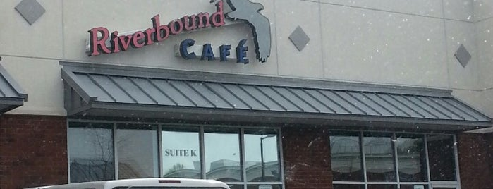 Riverbound Cafe is one of Lieux qui ont plu à Jeremy.