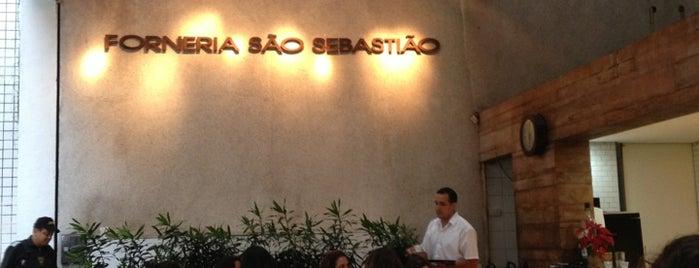 Forneria São Sebastião is one of Restaurant.