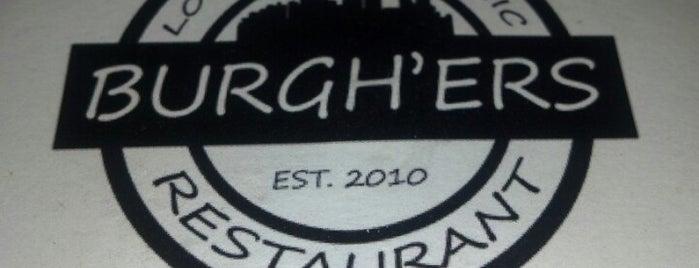 Burgh'ers Restaurant is one of Pgh Eats'n'Drinks.