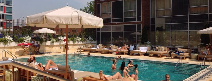 McCarren Hotel & Pool is one of Day Drinking in the Great (NYC) Outdoors.