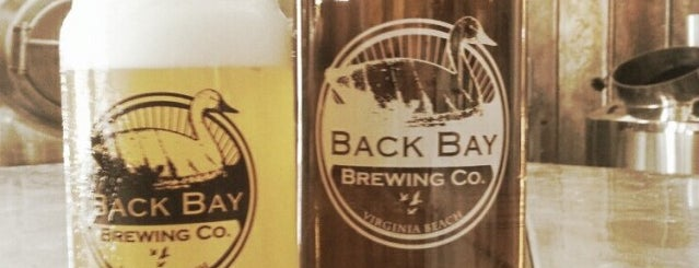 Back Bay Brewing is one of Breweries or Bust 2.