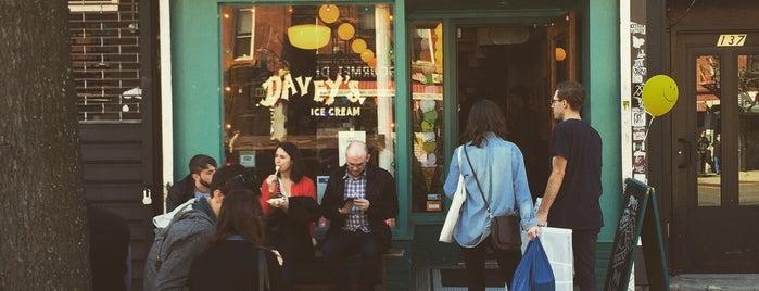 Davey's Ice Cream is one of ICE CREAM IN NYC.