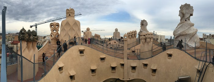 La Pedrera (Casa Milà) is one of Barcelona.
