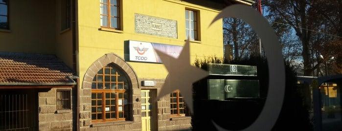 Kayaş Banliyö İstasyonu is one of Erkan : понравившиеся места.