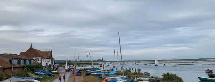 Burnham Overy Staithe is one of Norfolk.