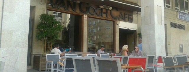 Van Gogh Café is one of Vigo.
