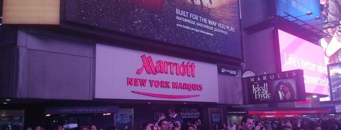 New York Marriott Marquis is one of Favorite Marriott Hotels.