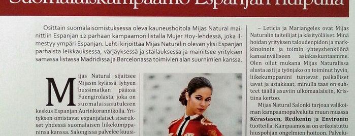 MIJAS NATURAL (Peluquería y Estética / Beauty & Hair) is one of Malaga Specials.