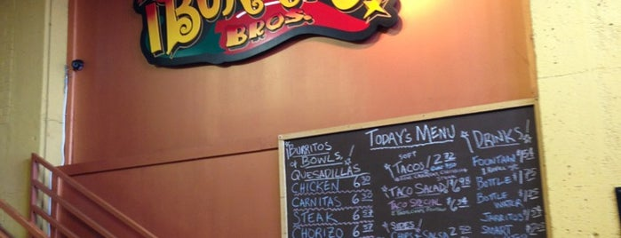 Burrito Bros. is one of Lugares favoritos de Sara.