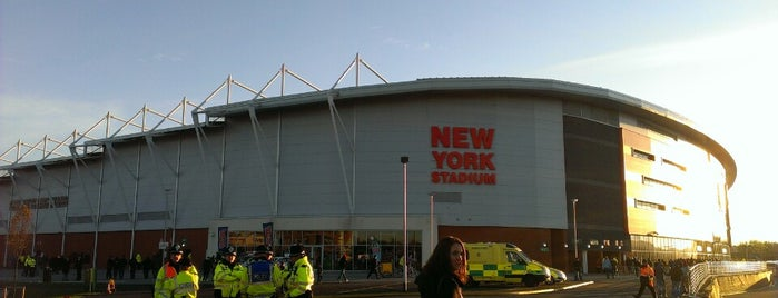 New York Stadium is one of Sky Bet Championship Stadiums 2015/16.