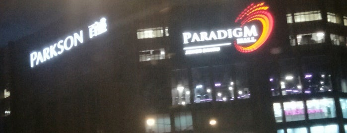 Paradigm Mall is one of JB.