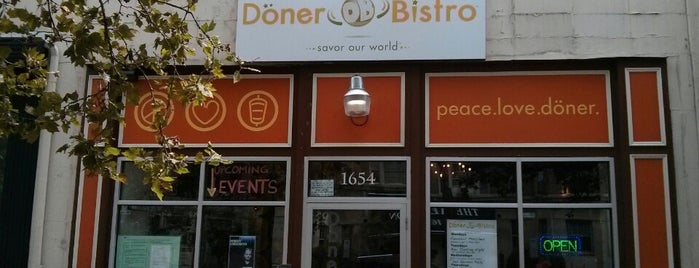 Döner Bistro is one of Adams Morgan and Mt. Pleasant.