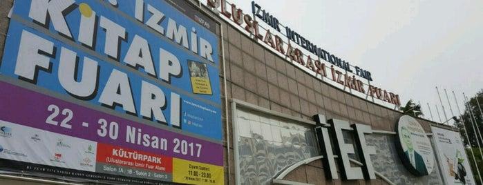 22. İzmir Kitap Fuarı is one of Tempat yang Disukai Berkan.