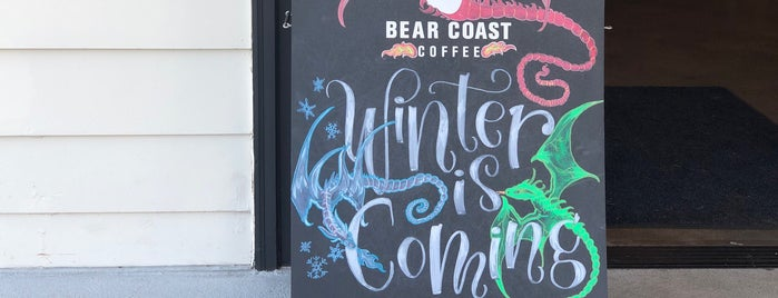 Bear Coast Coffee is one of Locais curtidos por Scott.