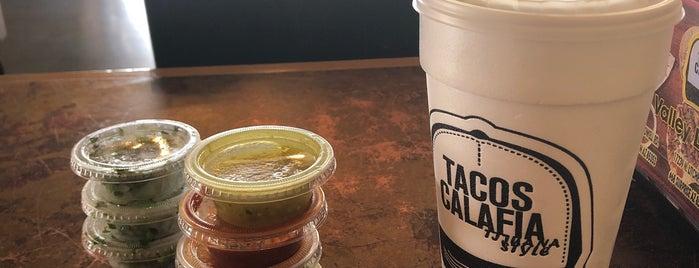 Tacos Calafia is one of Lieux sauvegardés par Joey.