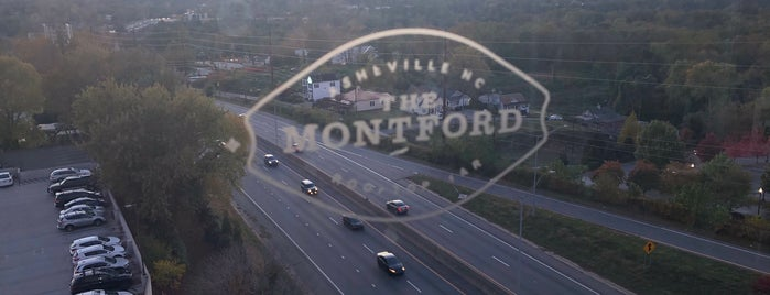 The Montford is one of Asheville, NC.