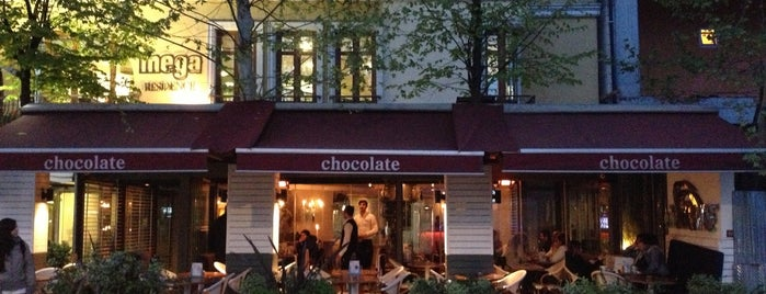 Chocolate is one of Istanbul Restaurants, Cafes, Clubs.