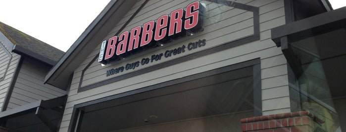 The Barber's is one of สถานที่ที่ J ถูกใจ.