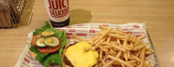 Smashburger is one of rodney'in Kaydettiği Mekanlar.