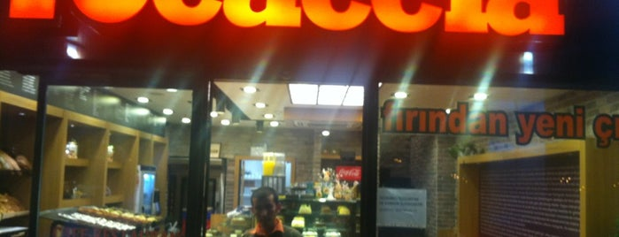 Focaccia is one of Ycard.