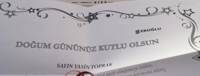 Eroğlu Holding is one of Lieux qui ont plu à Yalçın.