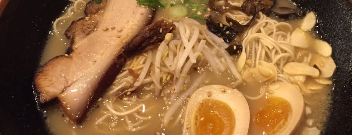 Mr. Taka Ramen is one of David Milberg NY.