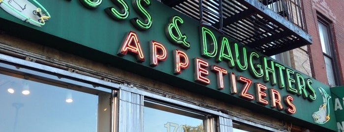 Russ & Daughters is one of NYC Spots for Out of Towners.