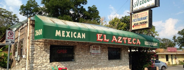 El Azteca is one of Austin Tex-Mex.