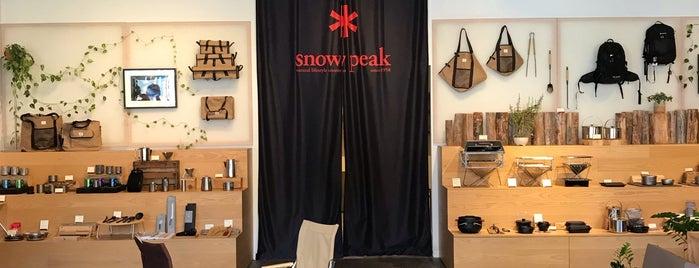 Snow Peak is one of Portland.