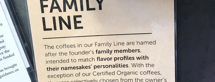 Nossa Familia Coffee is one of Oregon.