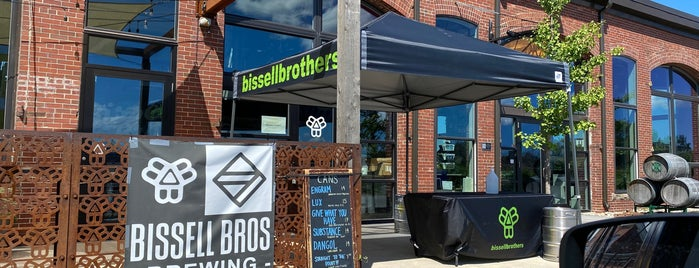 Bissell Brothers Brewing Co is one of NE road trip.
