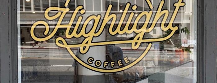 Highlight Coffee is one of สถานที่ที่ Kyle ถูกใจ.