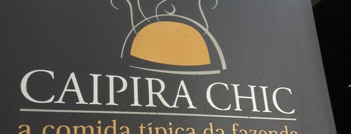 Caipira Chic is one of สถานที่ที่ Paula ถูกใจ.