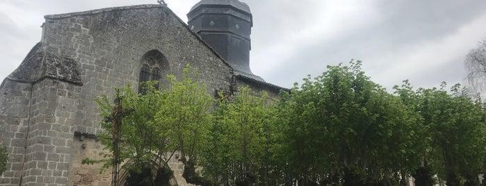 Mortemart is one of Les plus beaux villages de France.