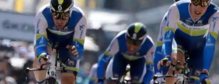 Hippodrome de la Côte d'Azur is one of Les étapes du Tour de France 2013.