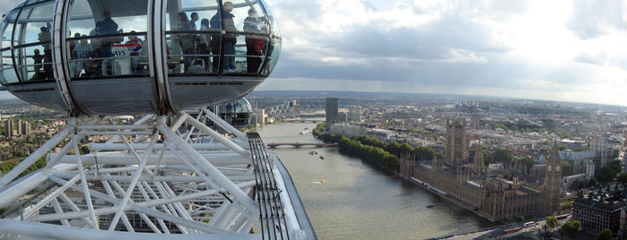 The London Eye is one of Top photography spots.