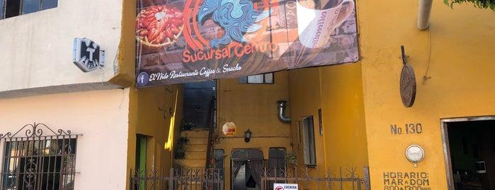 El nido restaurante is one of SLP.