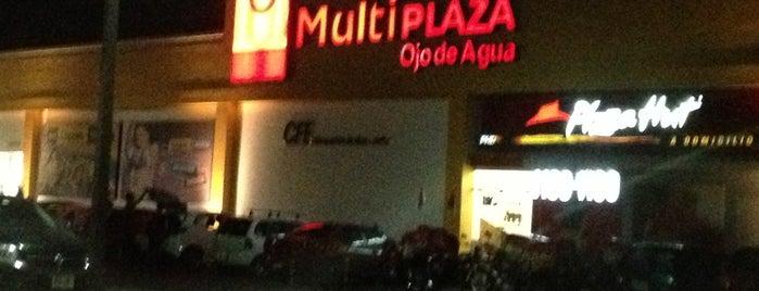 Multiplaza Ojo de Agua is one of Mis Sitios Favoritos.