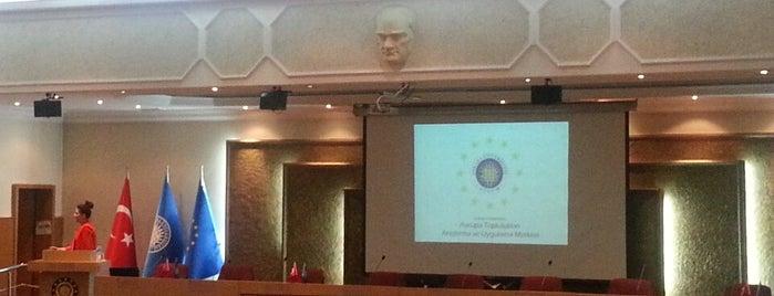 Avrupa Toplulukları Araştırma ve Uygulama Merkezi is one of Zelish'in Beğendiği Mekanlar.
