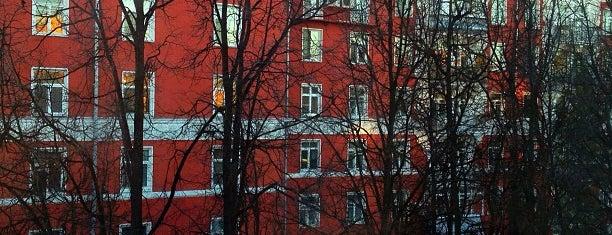 Двор «Красных домов» is one of Lugares favoritos de Ruslan.