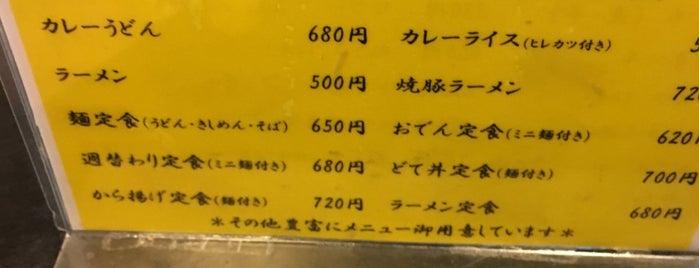 めん処 酒処 かどや is one of 名古屋.