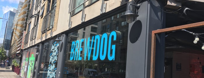 BrewDog Shoreditch is one of London 2019.