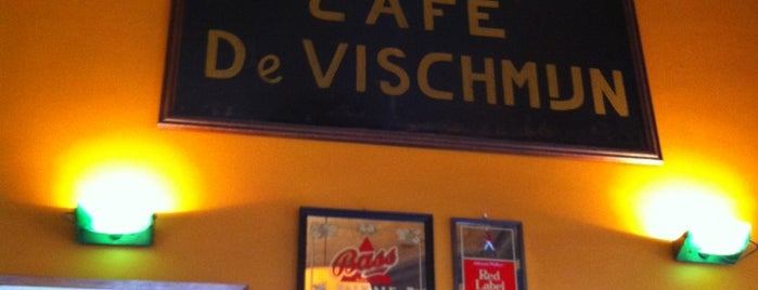 Café De Vischmijn is one of Lieux sauvegardés par Adam.