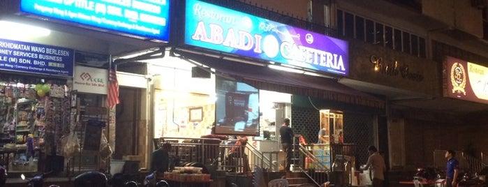 Abadi Cafeteria is one of Owen'in Beğendiği Mekanlar.