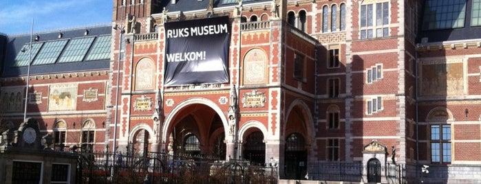Rijksmuseum is one of The Netherlands.