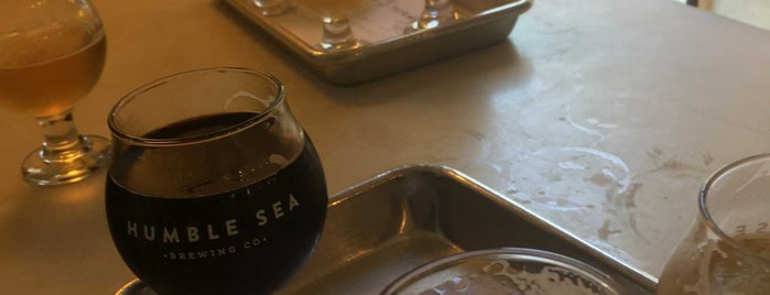 Humble Sea Brewing Co. is one of Santa Cruz maybe goods.