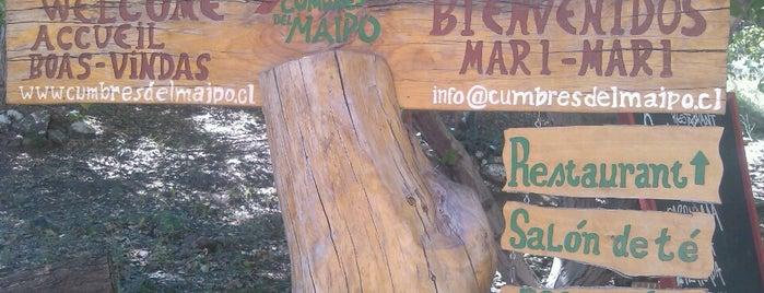Cumbres del Maipo is one of Tempat yang Disukai Rosana.