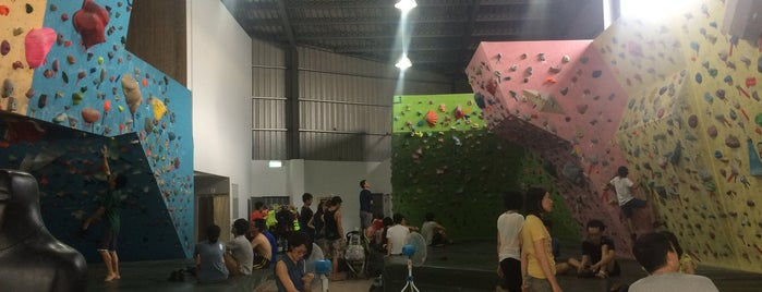 B-Plus Bouldering Gym is one of Climbing.