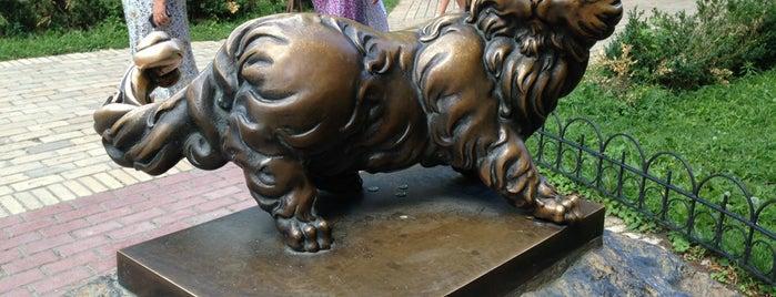 Пам'ятник котові Пантелеймону is one of Posti che sono piaciuti a Ola.