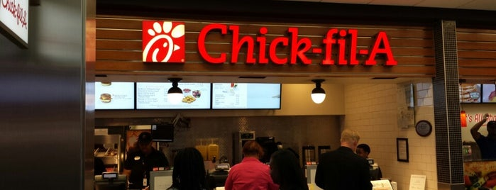Chick-fil-A is one of Justin'in Kaydettiği Mekanlar.